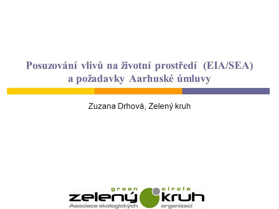 Zuzana Drhová, Zelený kruh