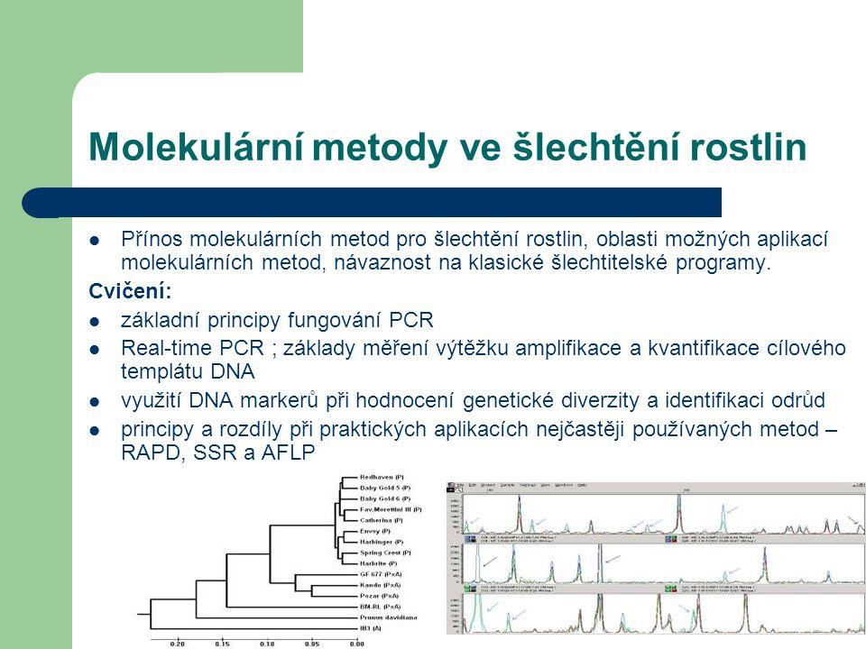 Molekulární metody ve šlechtění rostlin
