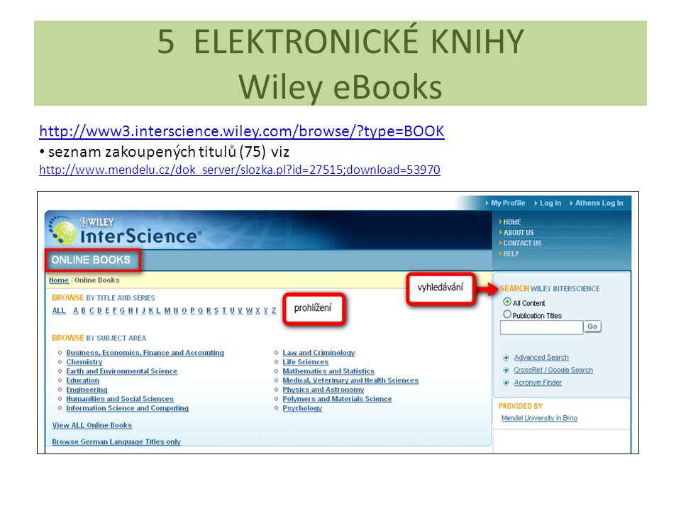 5 ELEKTRONICKÉ KNIHY Wiley eBooks