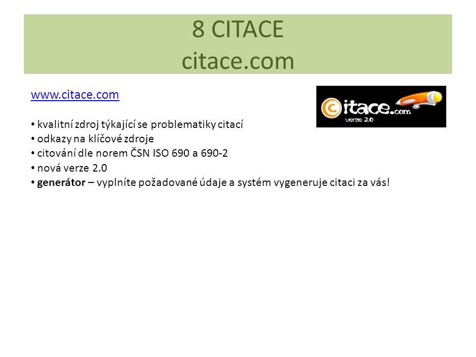 8 CITACE citace.com www.citace.com