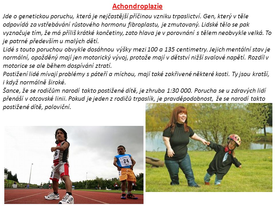 Achondroplazie