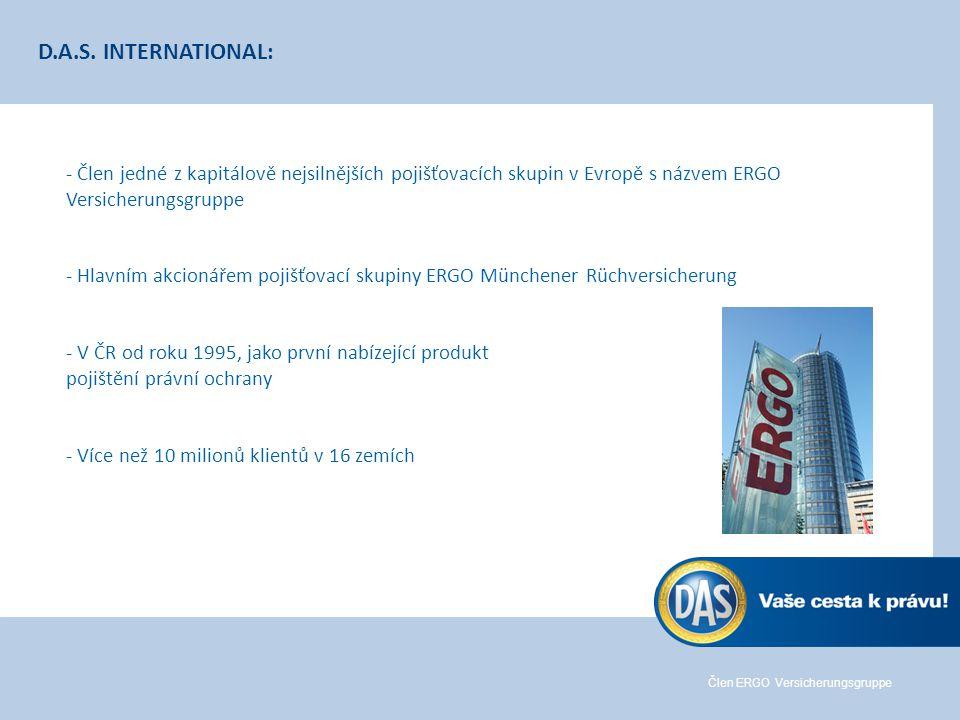 Člen ERGO Versicherungsgruppe