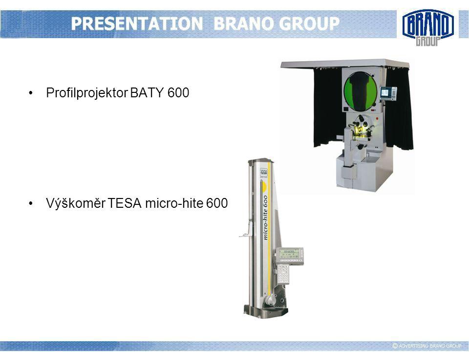 Profilprojektor BATY 600 Výškoměr TESA micro-hite 600
