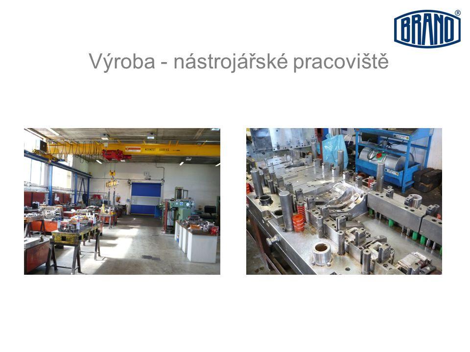 Výroba - nástrojářské pracoviště