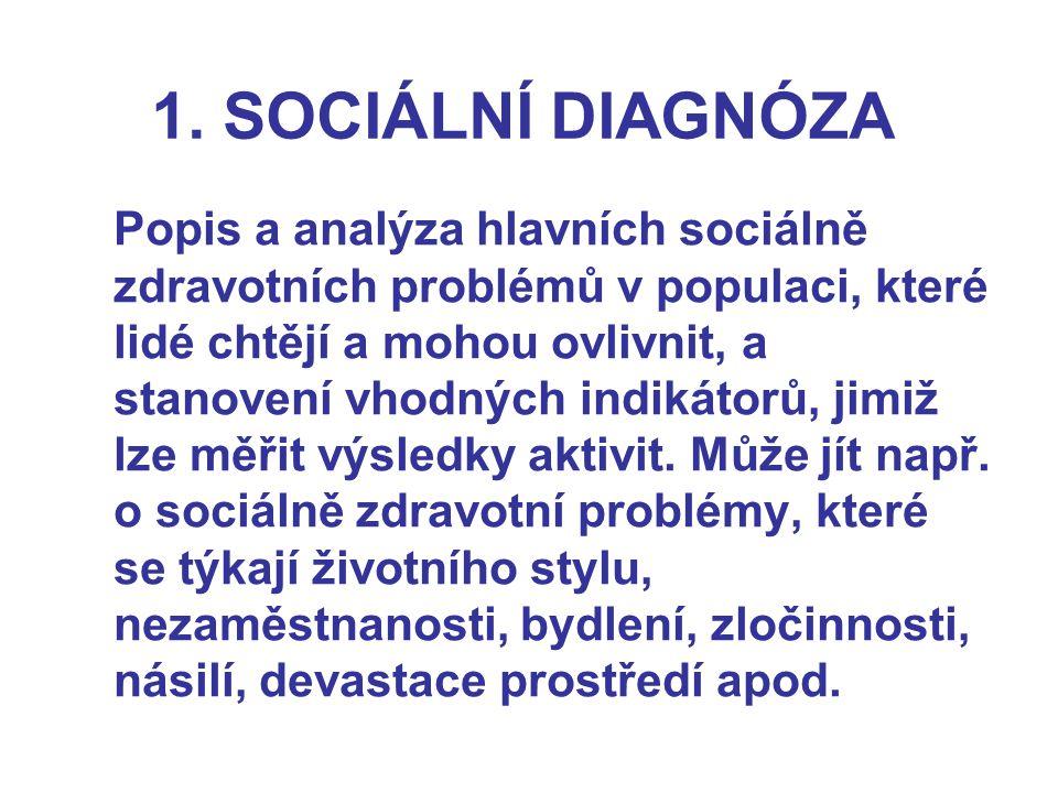 1. SOCIÁLNÍ DIAGNÓZA