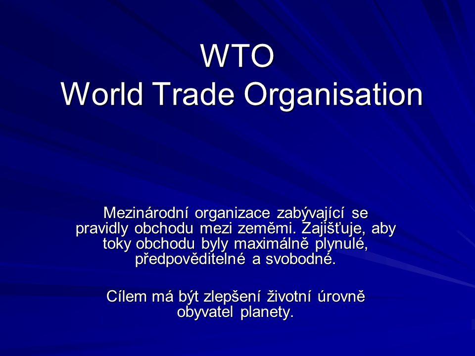 WTO World Trade Organisation