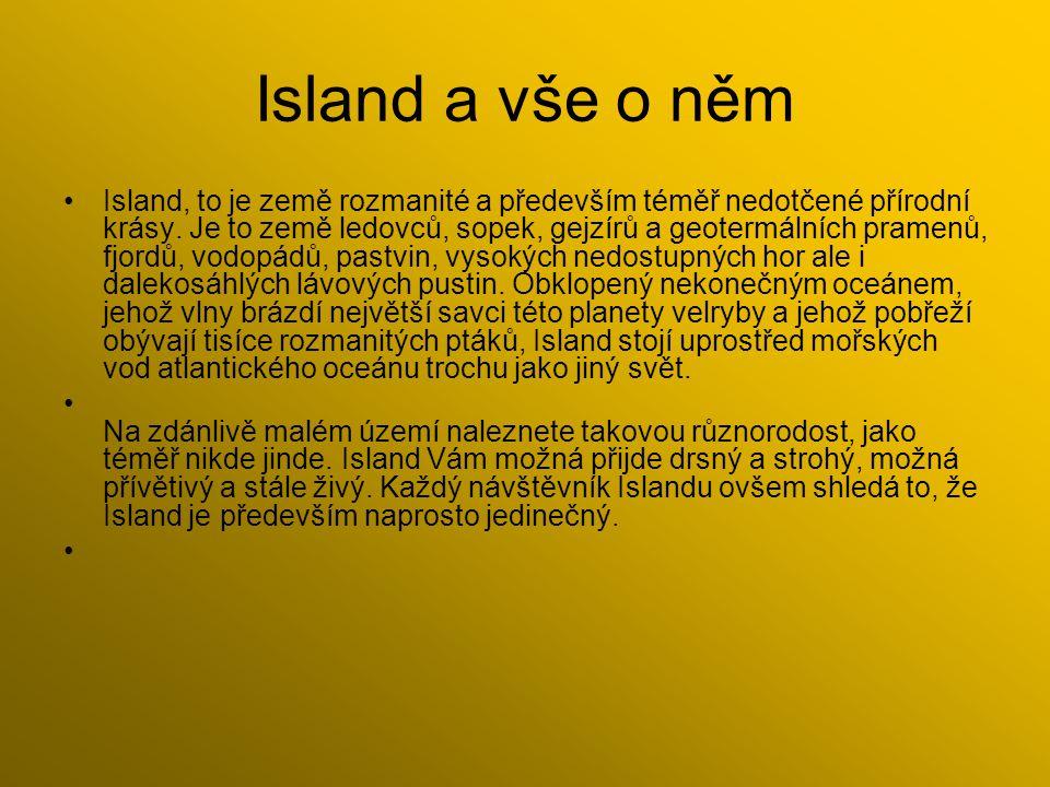 Island a vše o něm