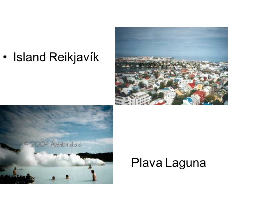 Island Reikjavík Plava Laguna