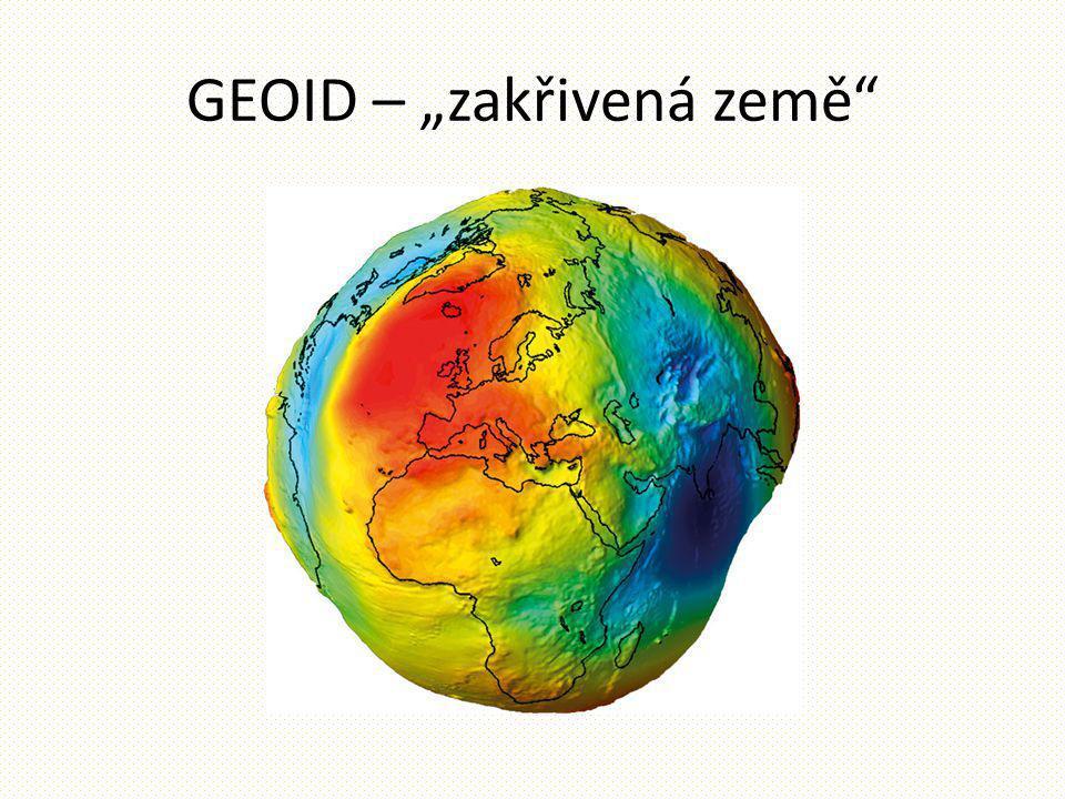 """GEOID – """"zakřivená země"""