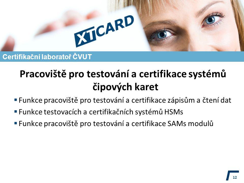 Certifikační laboratoř ČVUT