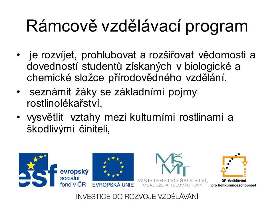 Rámcově vzdělávací program