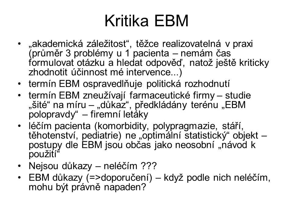 Kritika EBM