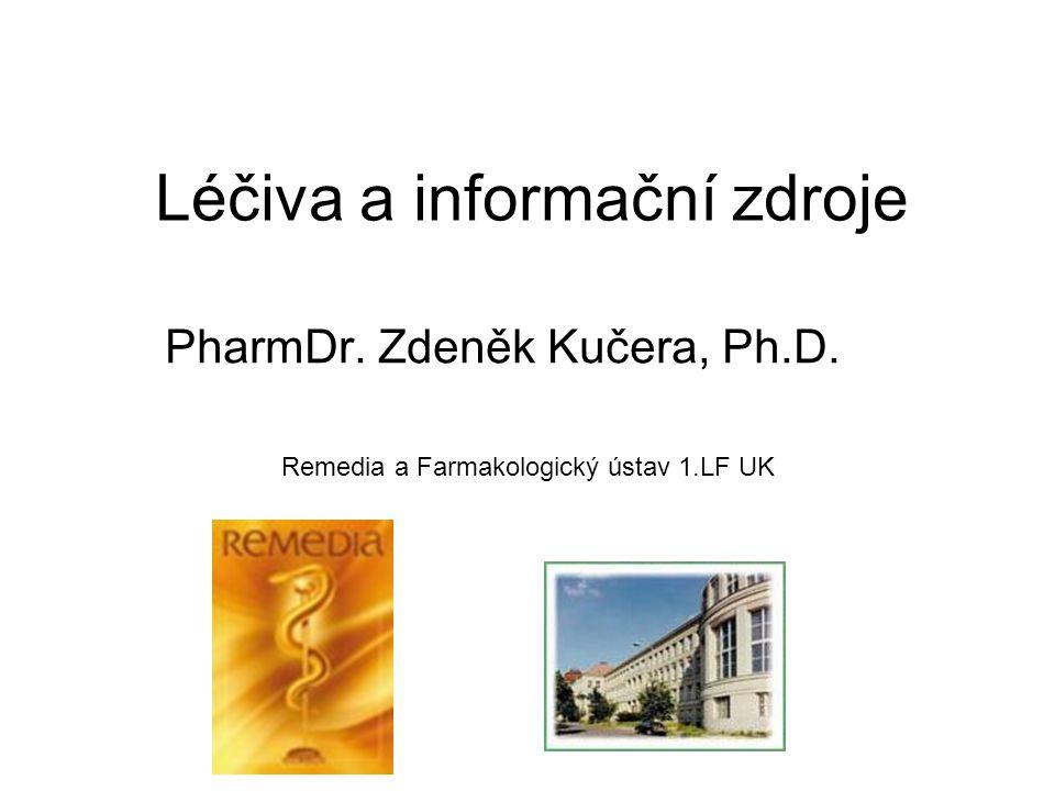 Léčiva a informační zdroje