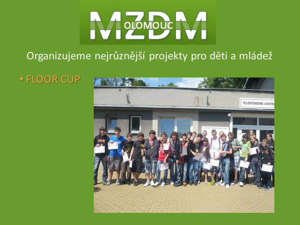 Organizujeme nejrůznější projekty pro děti a mládež