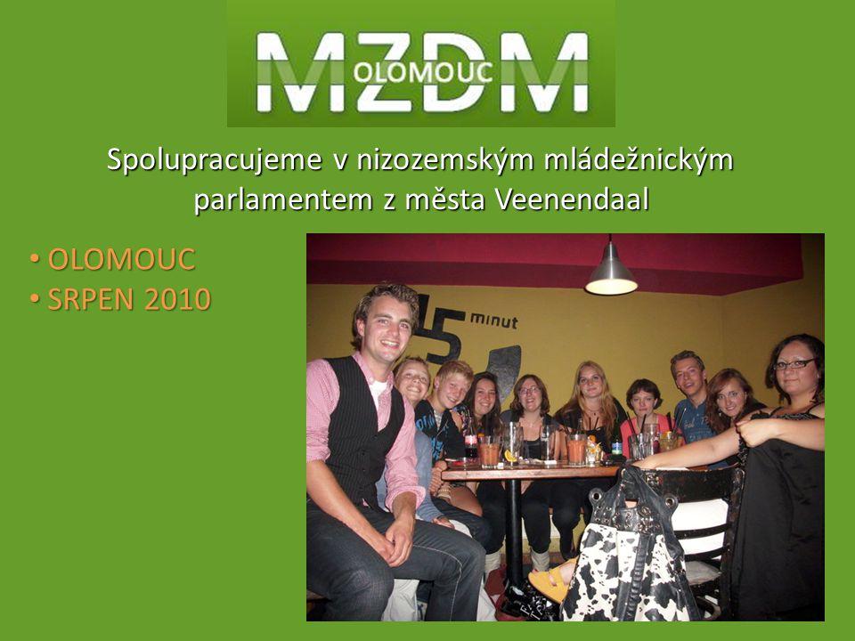 Spolupracujeme v nizozemským mládežnickým parlamentem z města Veenendaal