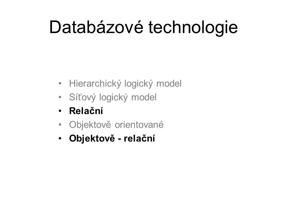 Databázové technologie