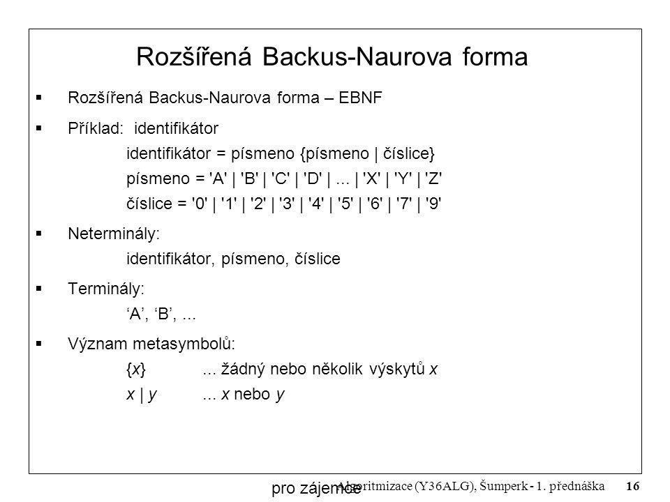 Rozšířená Backus-Naurova forma