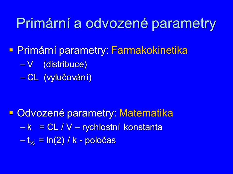 Primární a odvozené parametry