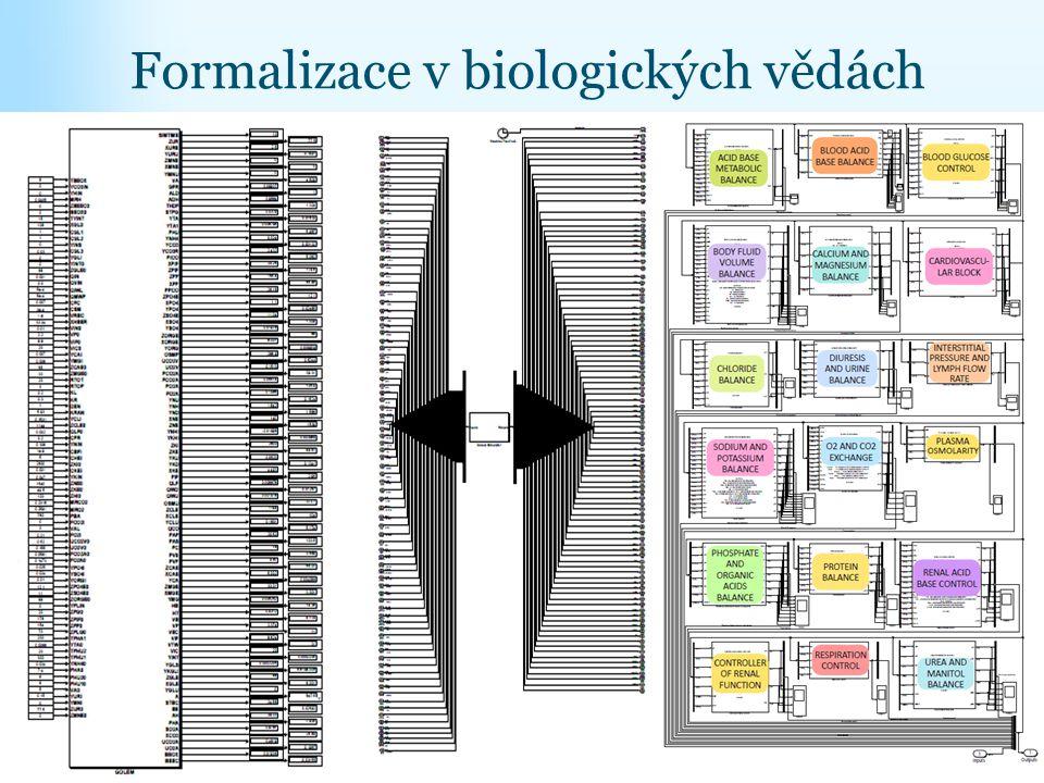 Formalizace v biologických vědách