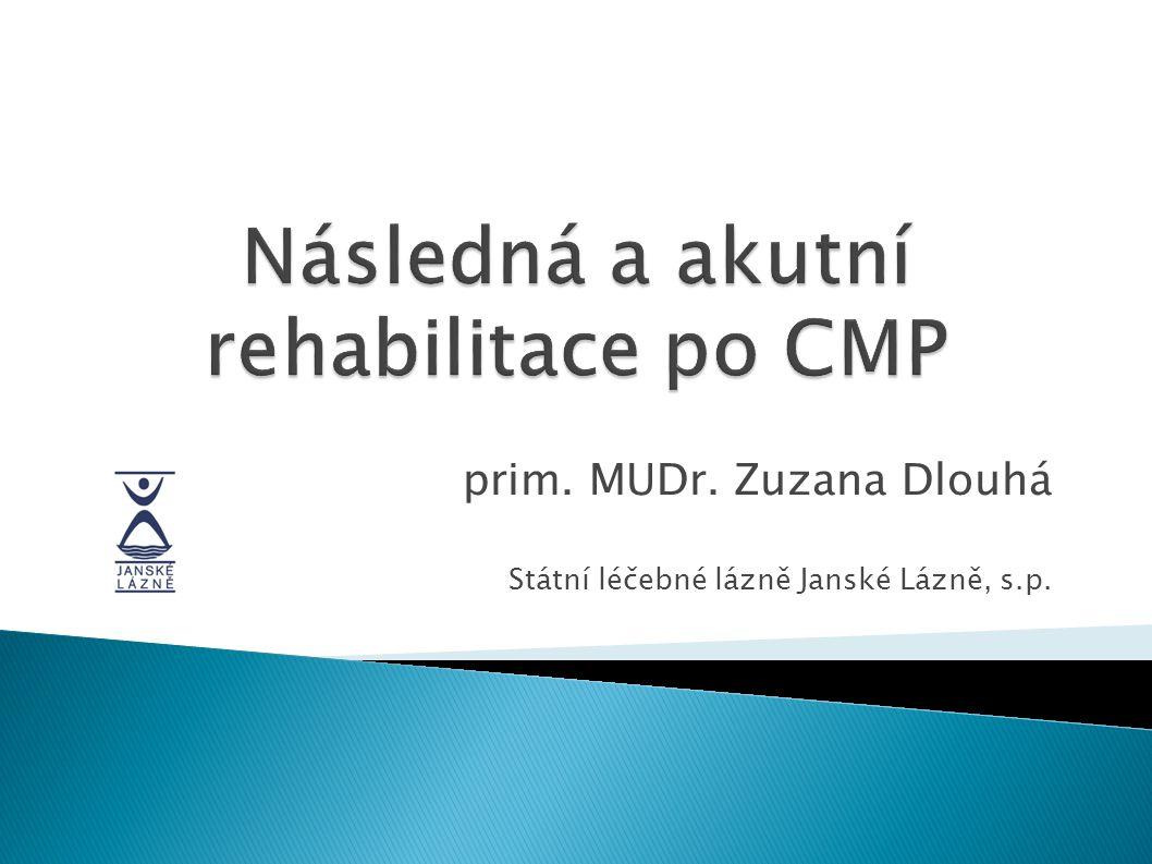 Následná a akutní rehabilitace po CMP