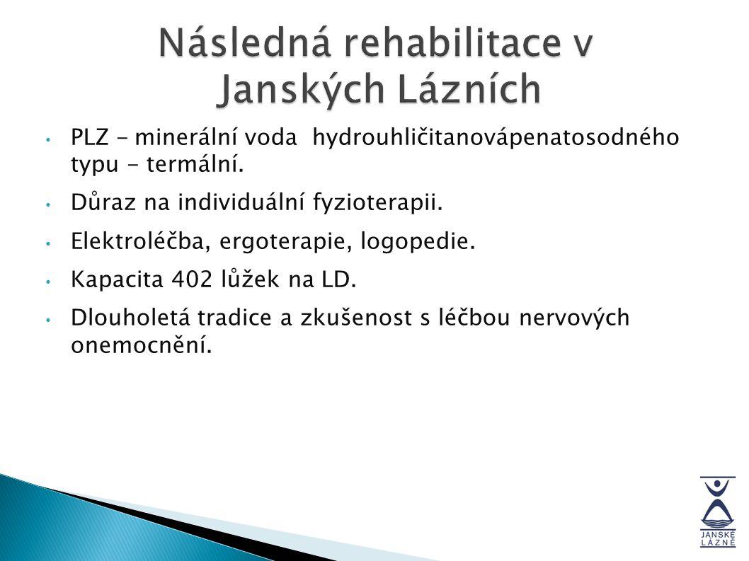 Následná rehabilitace v Janských Lázních