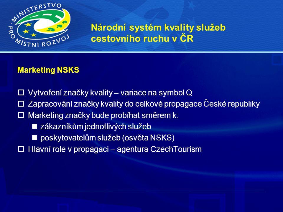 Národní systém kvality služeb cestovního ruchu v ČR