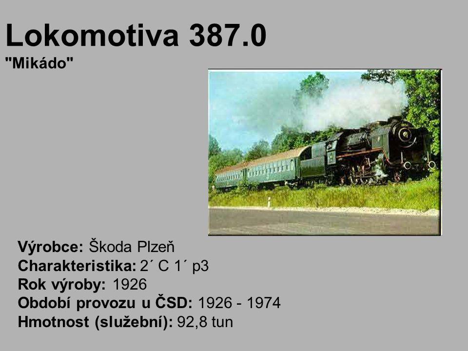 Lokomotiva 387.0 Mikádo