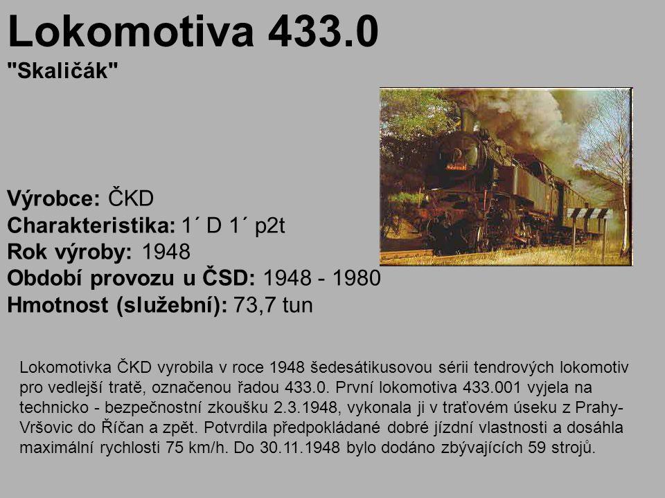 Lokomotiva 433.0 Skaličák