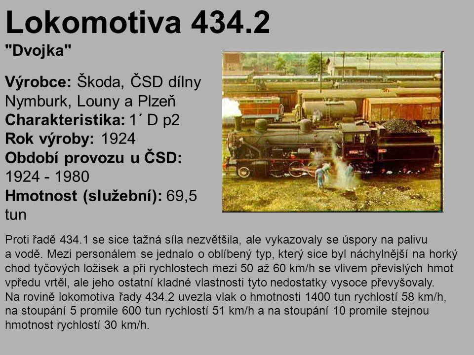 Lokomotiva 434.2 Dvojka