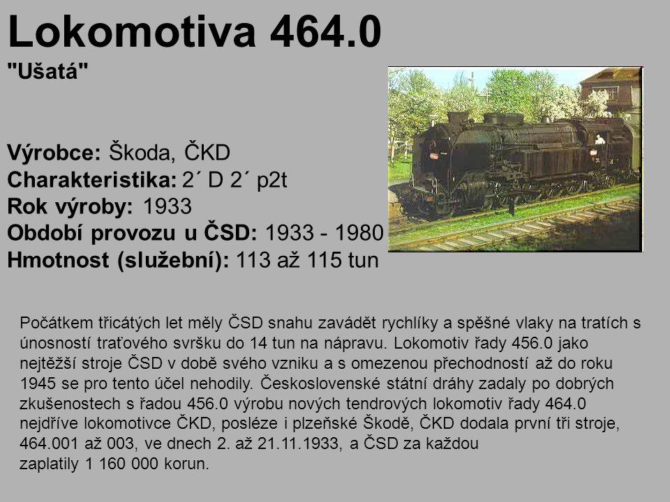 Lokomotiva 464.0 Ušatá