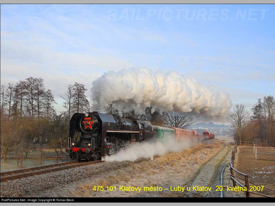 475.101 Klatovy město – Luby u Klatov 20. května 2007