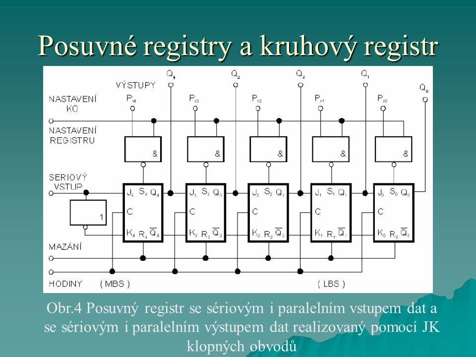 Posuvné registry a kruhový registr