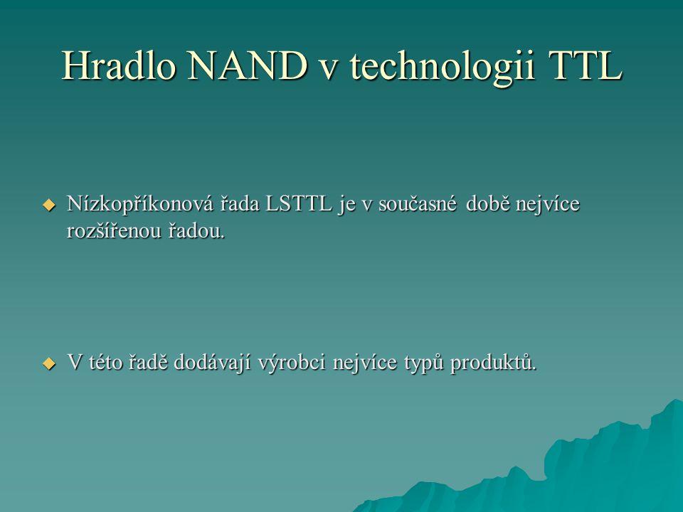 Hradlo NAND v technologii TTL