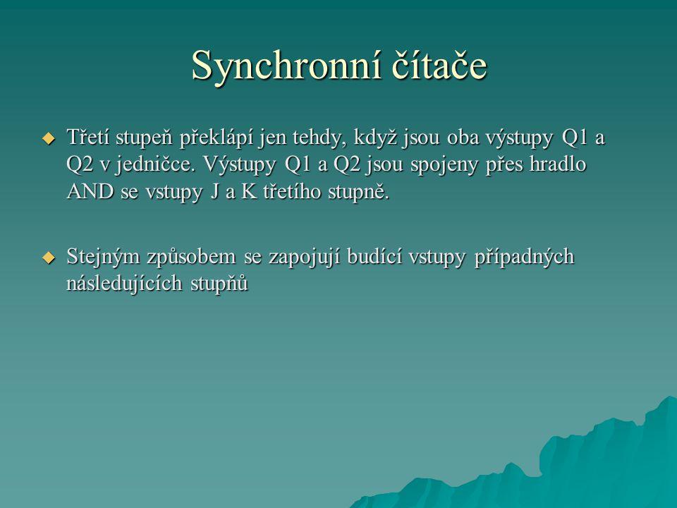 Synchronní čítače