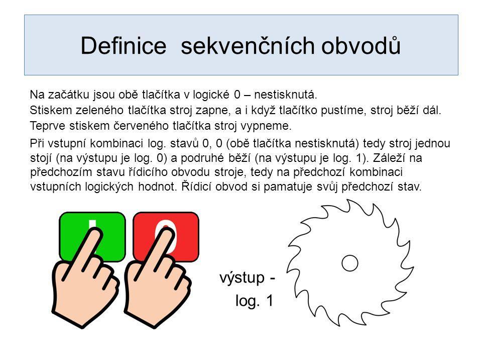 Definice sekvenčních obvodů