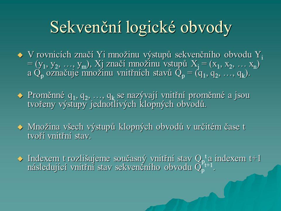 Sekvenční logické obvody