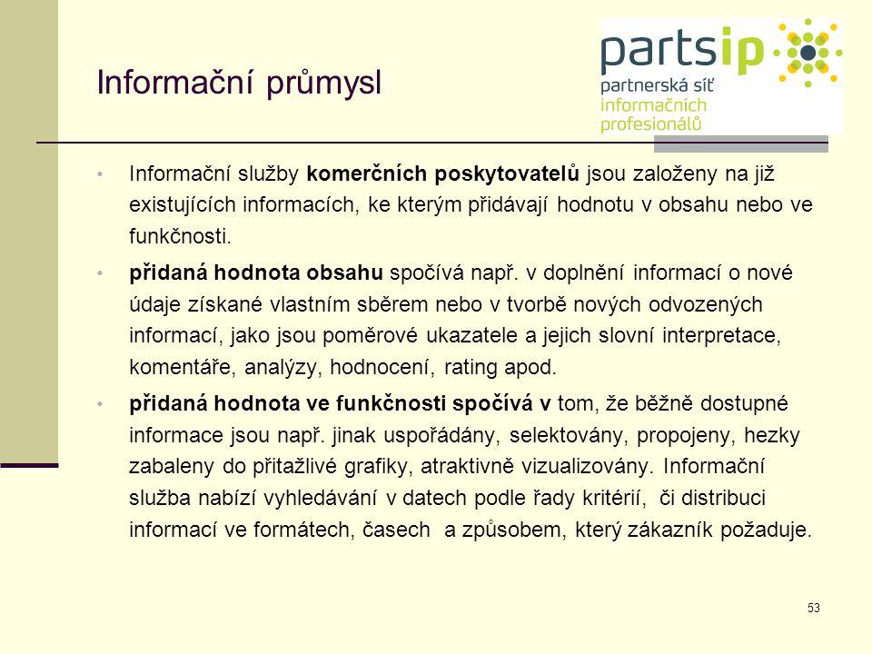 Informační průmysl