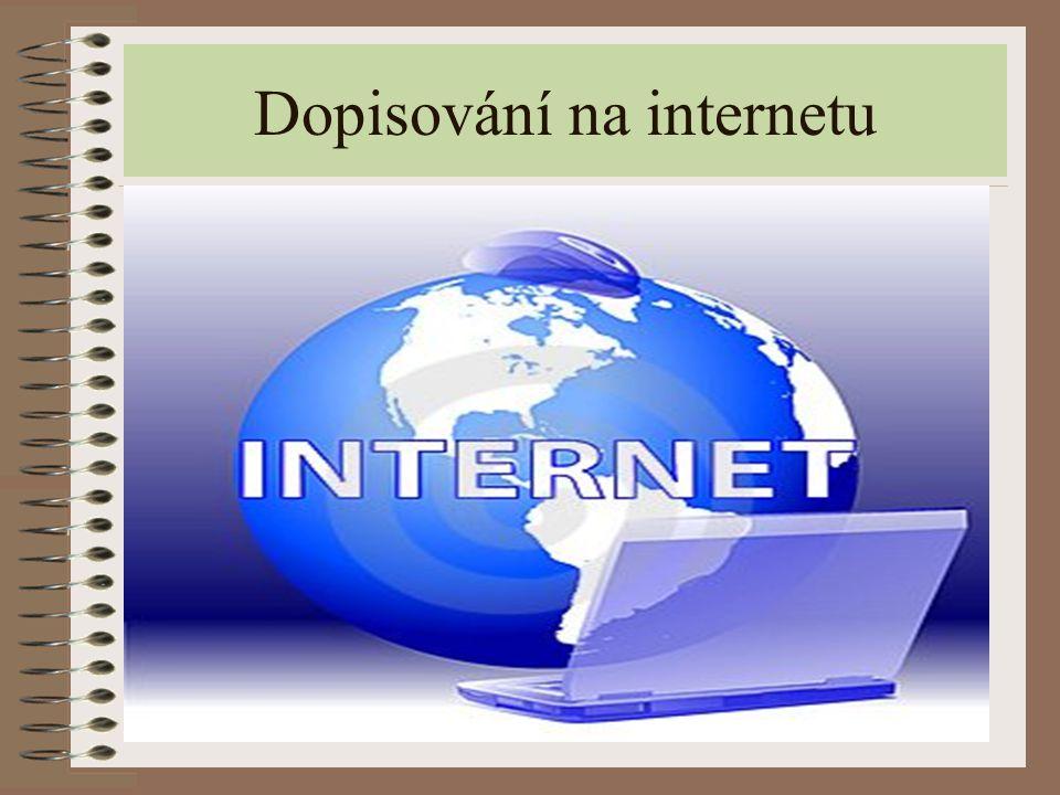 Dopisování na internetu
