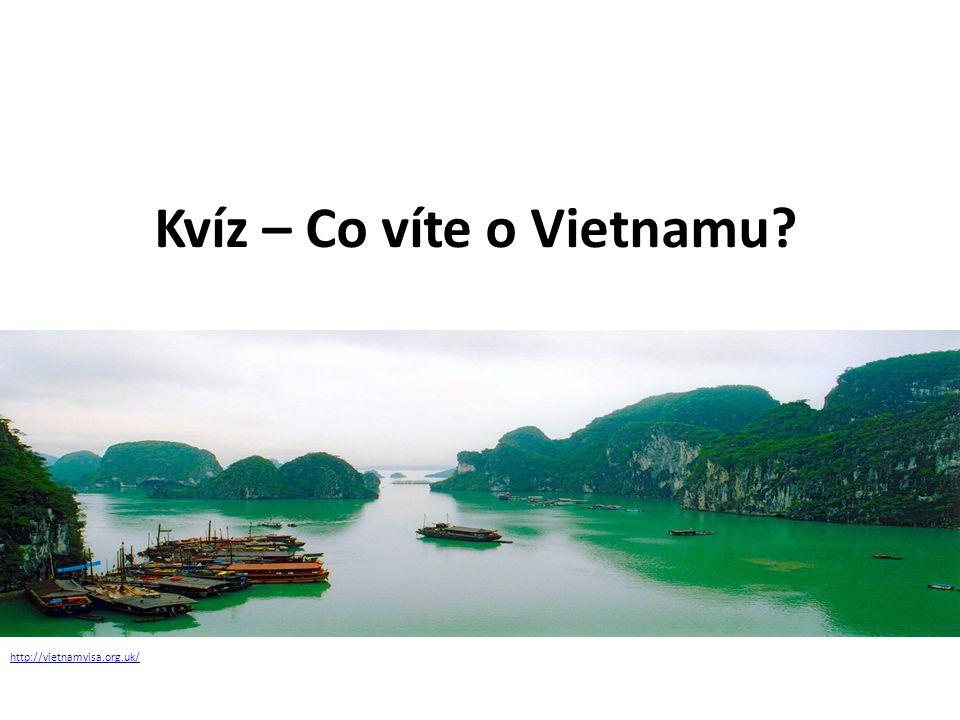 Kvíz – Co víte o Vietnamu