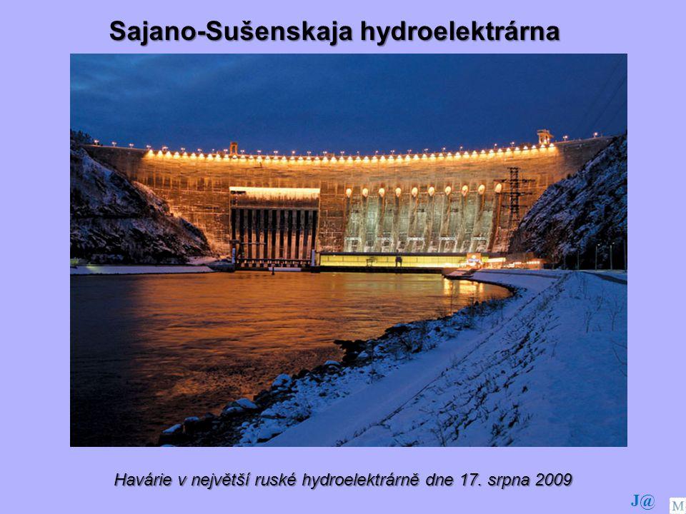 Havárie v největší ruské hydroelektrárně dne 17. srpna 2009
