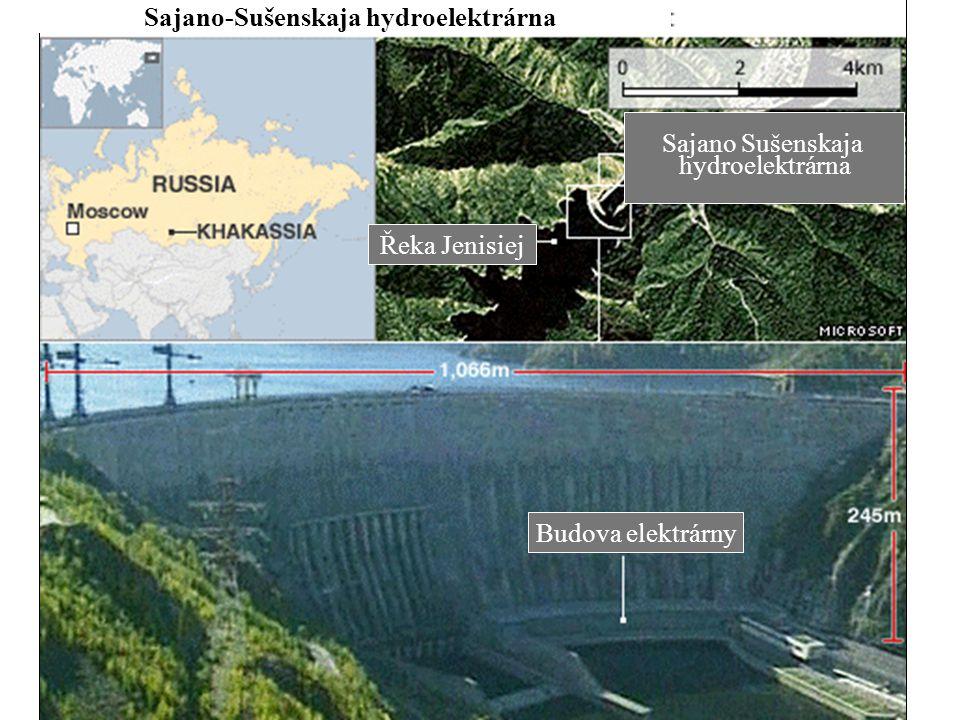 Sajano-Sušenskaja hydroelektrárna