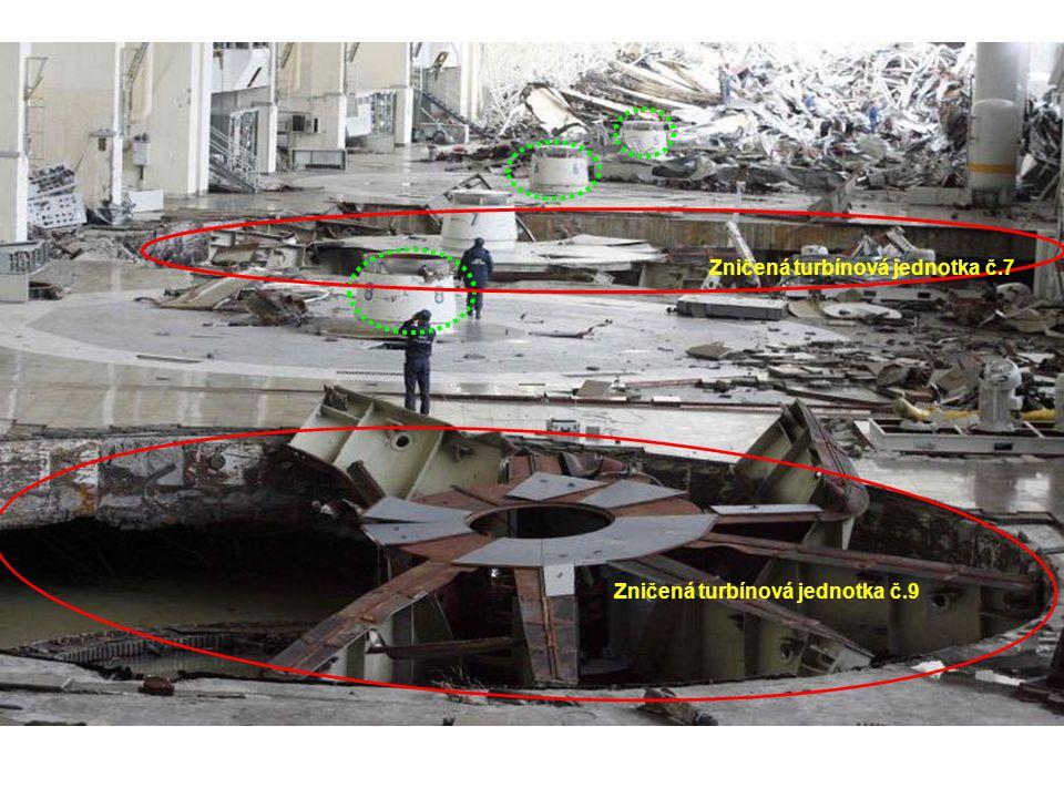 Zničená turbínová jednotka č.7