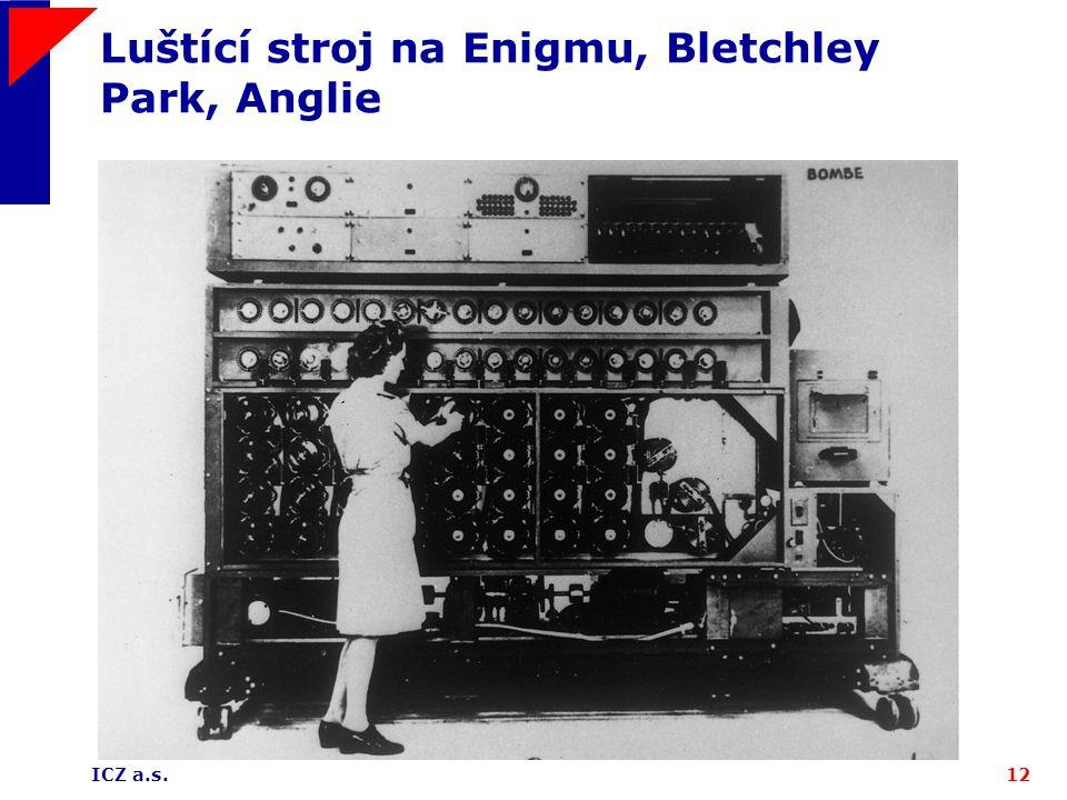 Luštící stroj na Enigmu, Bletchley Park, Anglie
