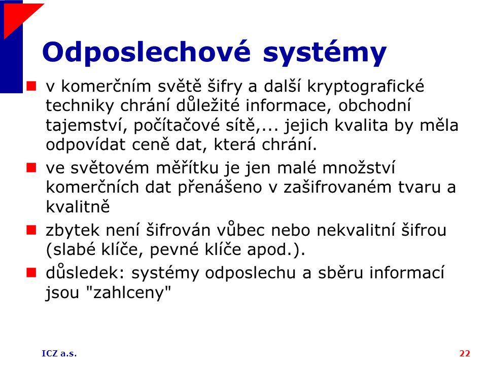 Odposlechové systémy