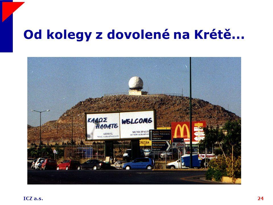 Od kolegy z dovolené na Krétě...