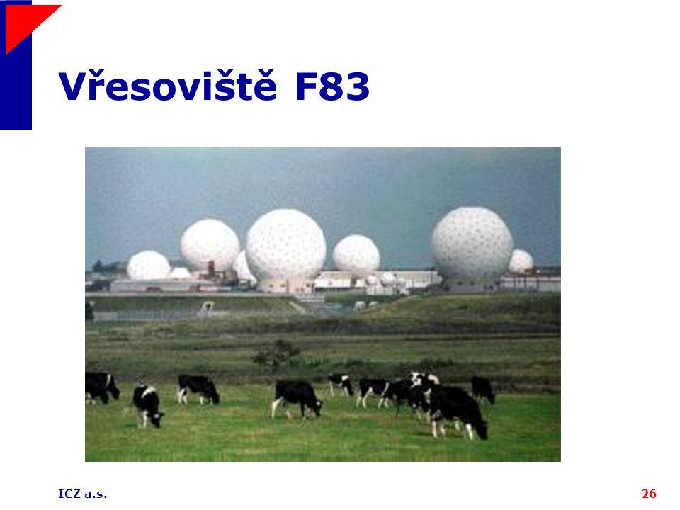Vřesoviště F83 ICZ a.s.