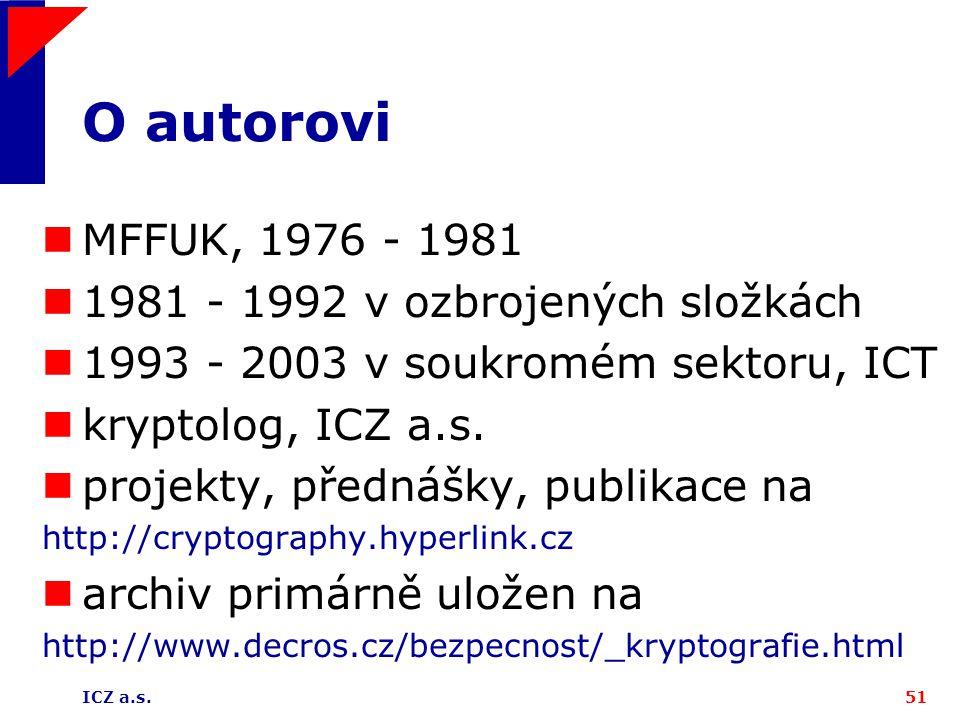 O autorovi MFFUK, 1976 - 1981 1981 - 1992 v ozbrojených složkách