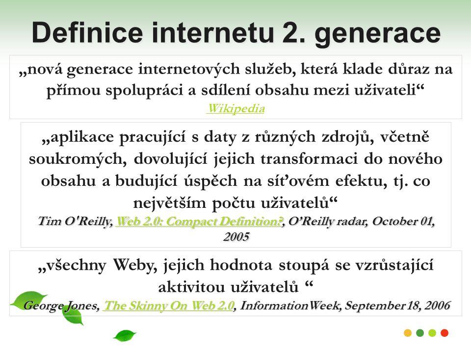 Definice internetu 2. generace