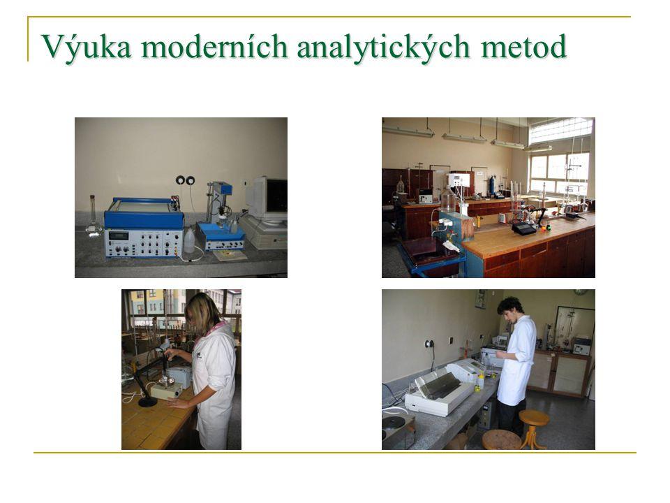 Výuka moderních analytických metod