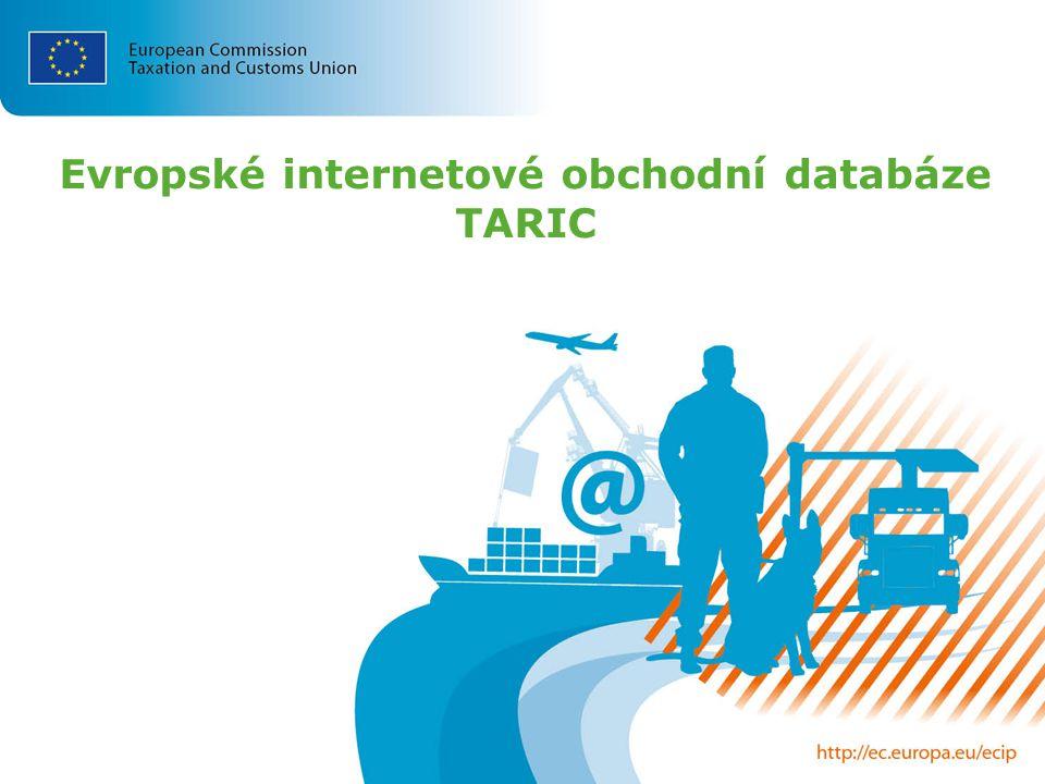 Evropské internetové obchodní databáze